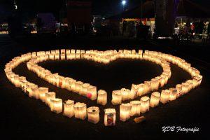 lichtjes samenloop voor hoop
